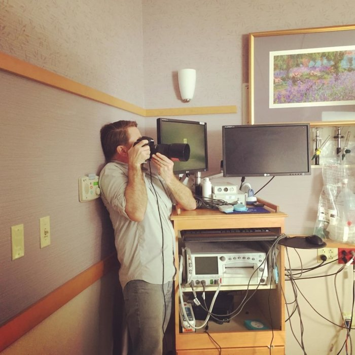 Matt Witherspoon Healthcare Shoot Behind the Scenes