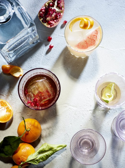 A group of tequila based cocktails - tequila photography