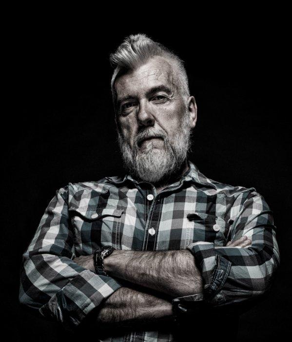 Portrait of Phil nuxhall
