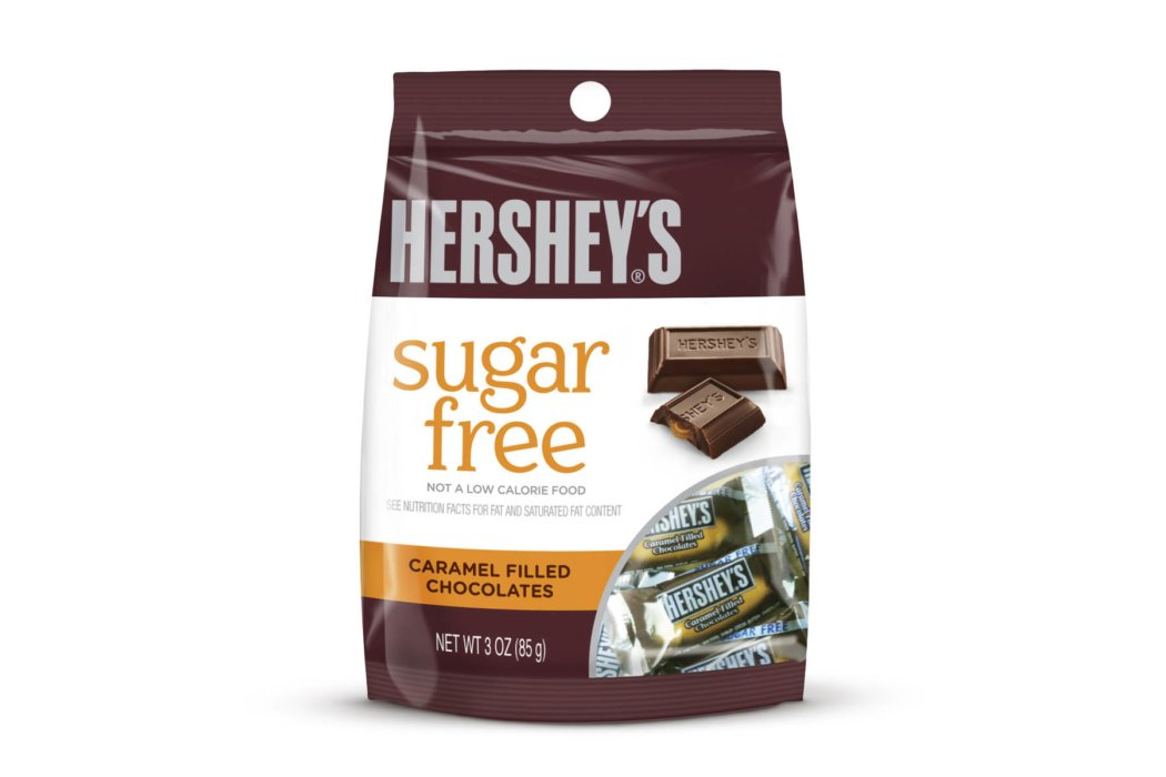 Hershey's chocolate sugar free packages