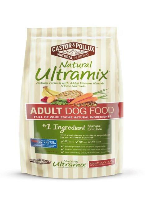 Natural Ultramix Adult dog food bag