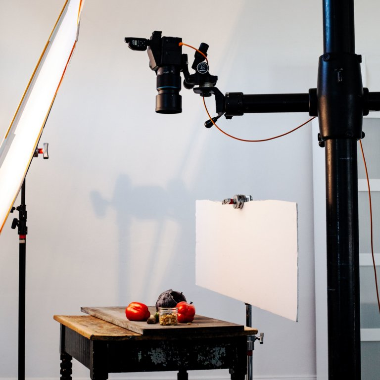 Behind the Scenes on a Natural Light Studio Light Shoot