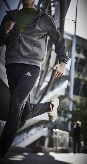 A male athletes training wear