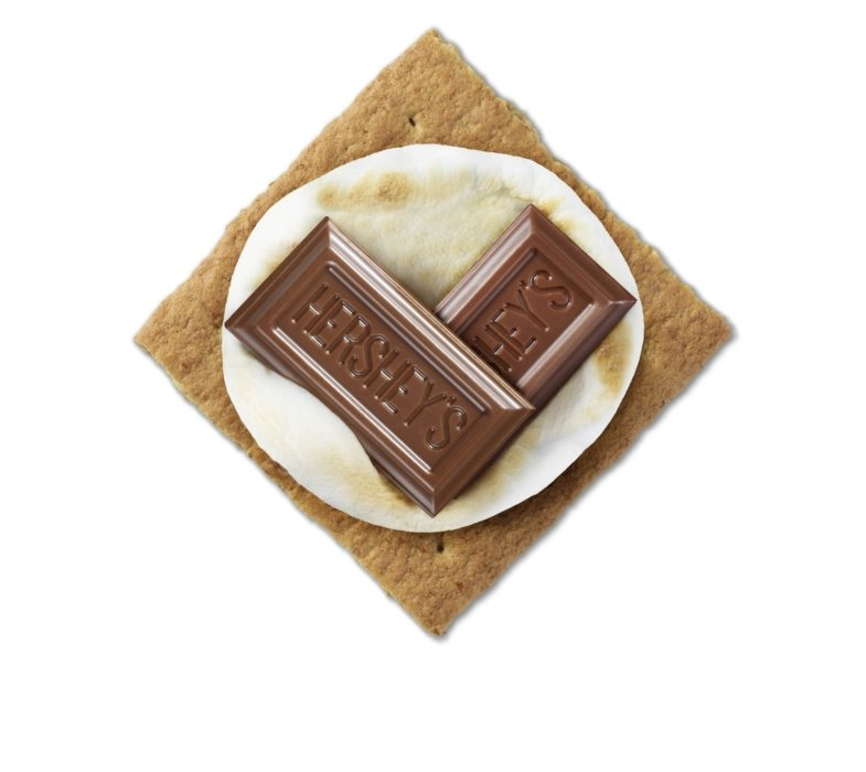 Hershey's love of smores candy heart