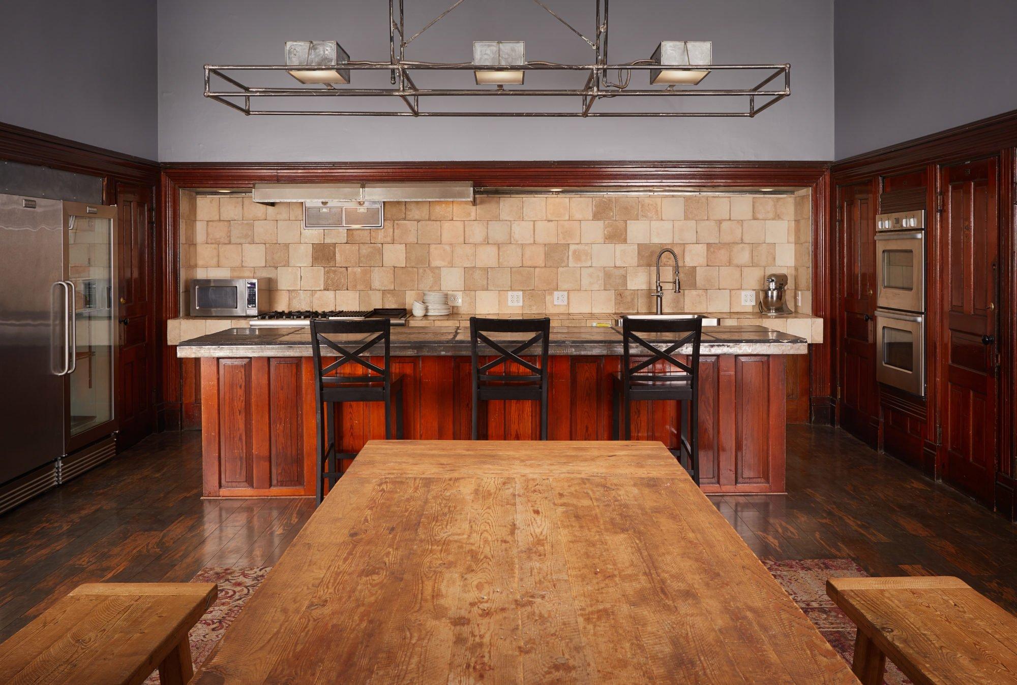 Second Floor Photo Studio Kitchen