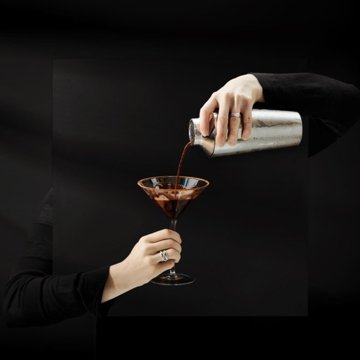 Surreal Chocolate Martini