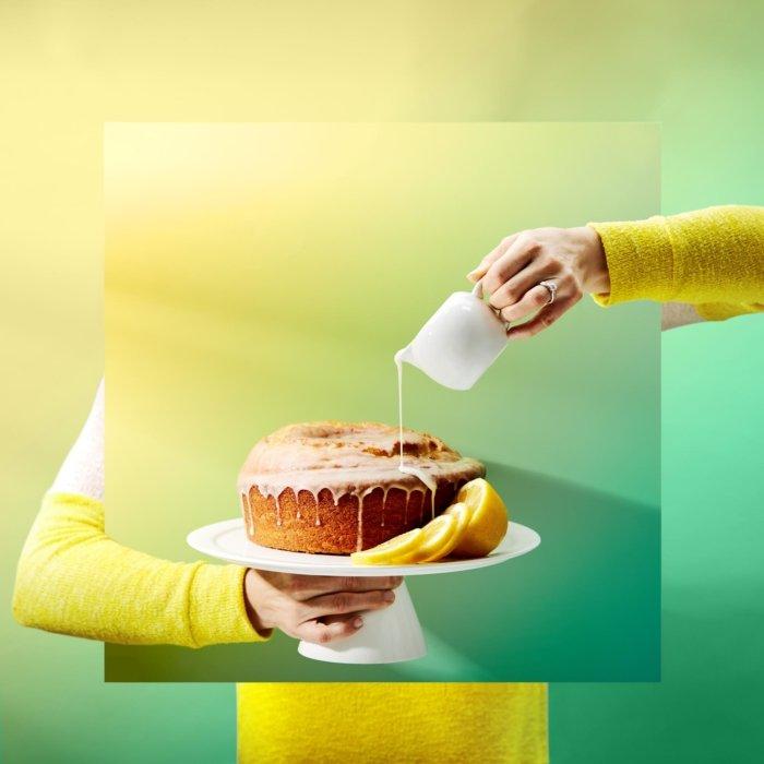 Surreal lemon PoundCake