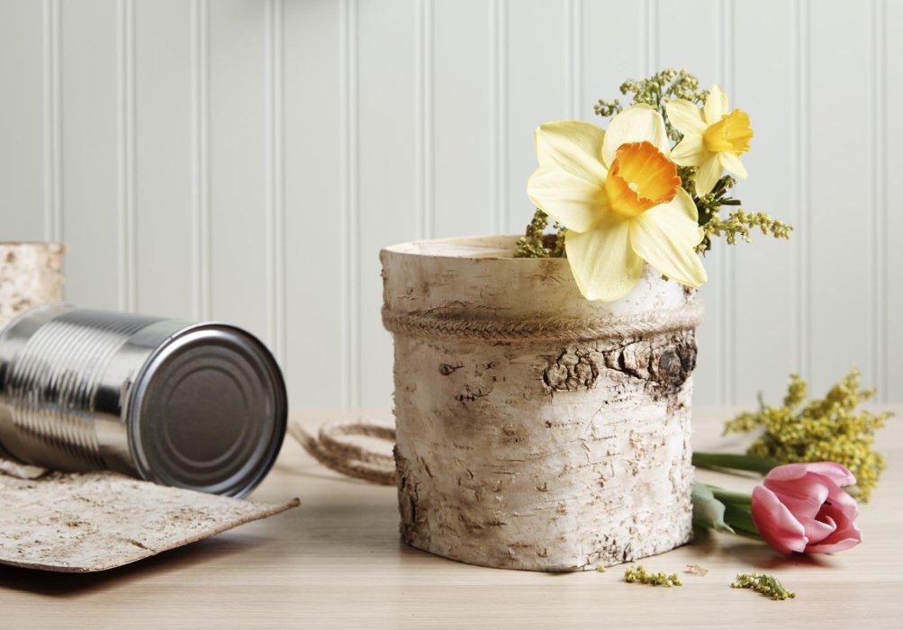 Crafting flower displays