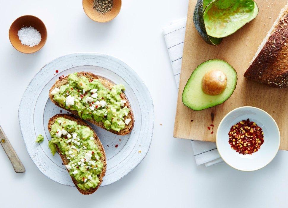 Avocado on bread