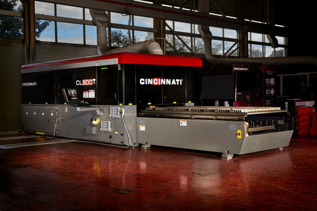 Large industrial equipment in an industrial environment - industrial photography