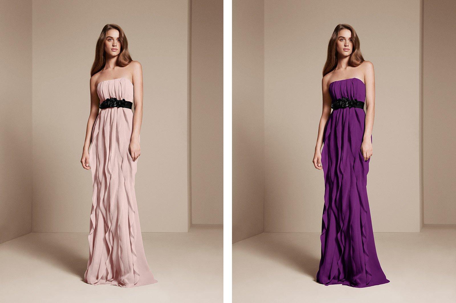 Colorways example - bridesmaid wearing bridesmaid dresses