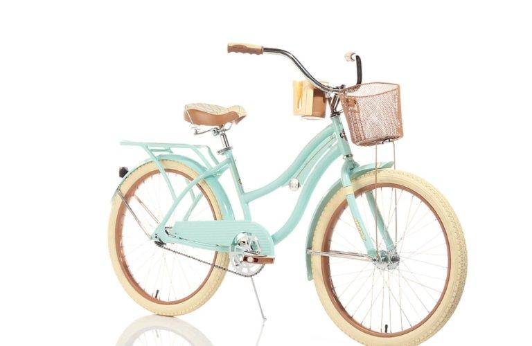 ecommerce image of a cruiser girls bike