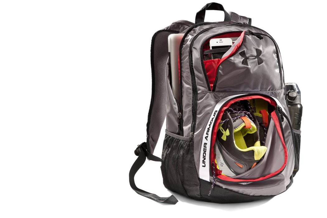 Athletic backpack product for ecommerce