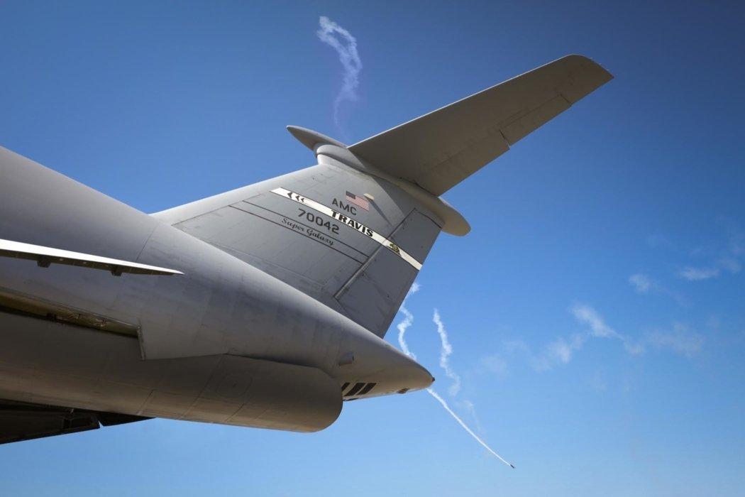 Industrial air plane construction