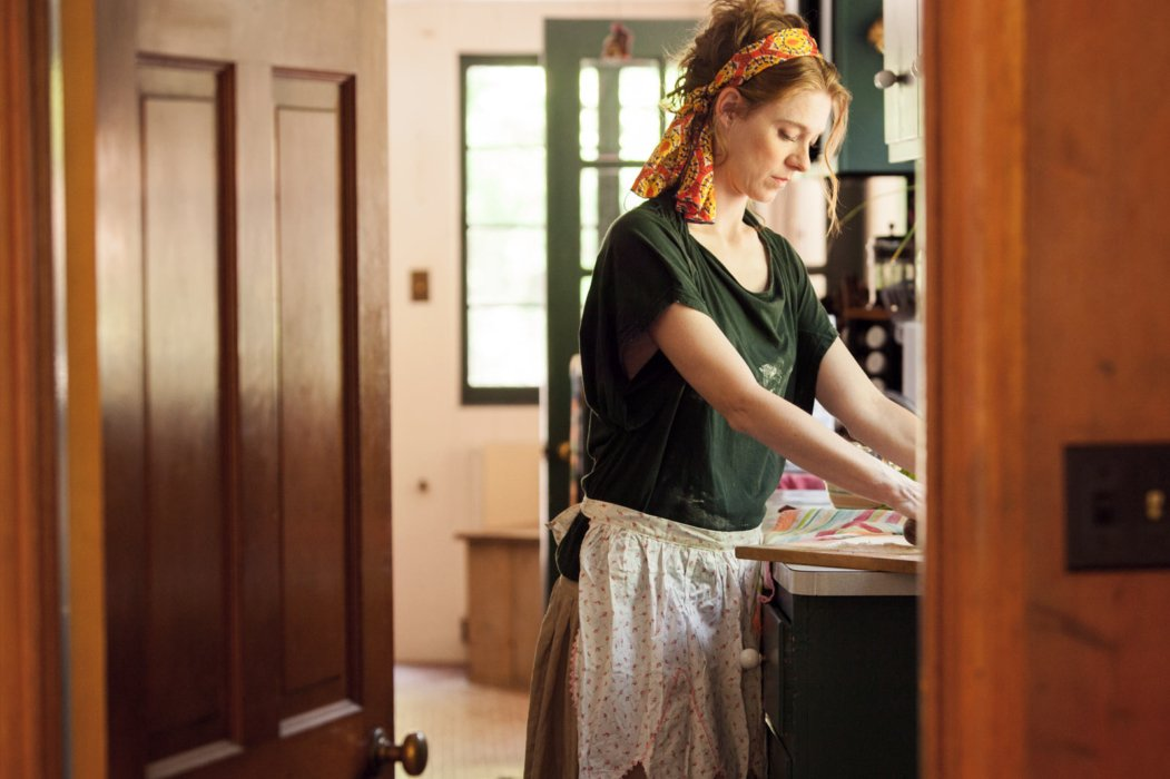 Lifestyle shot of a woman in the kitchen