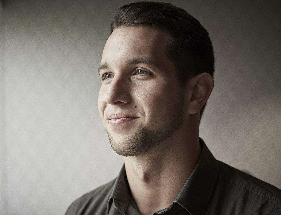 A young corporate man portrait