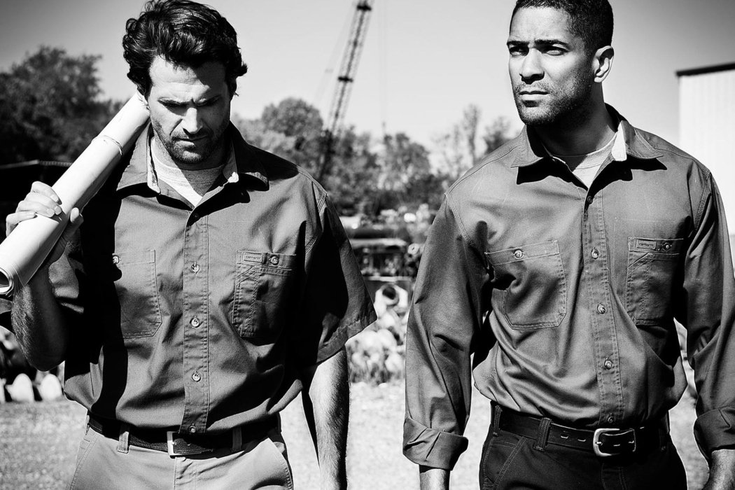 Two men in work clothes