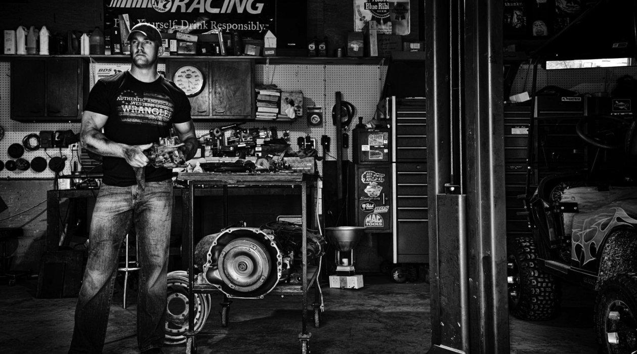 A working mechanic portrait