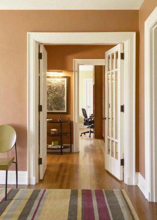 Interior architecture inside a suburban home