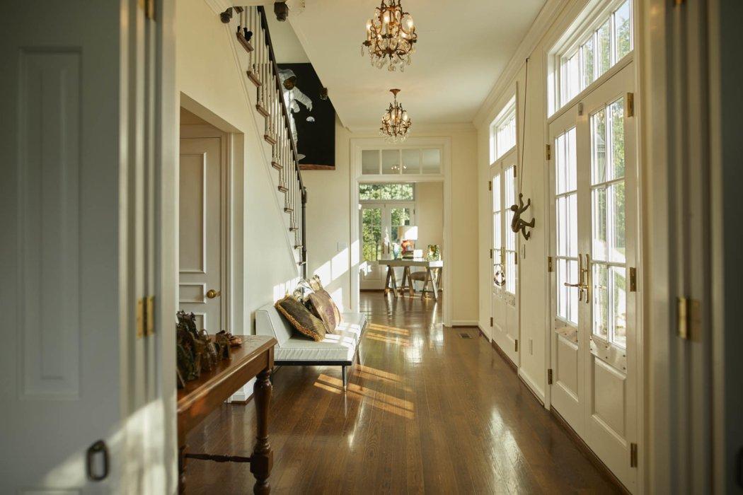 Interior architecture inside classic home