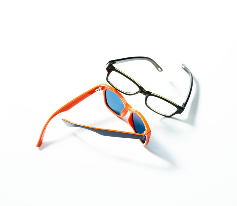 two sunglasses for ecommerce photography