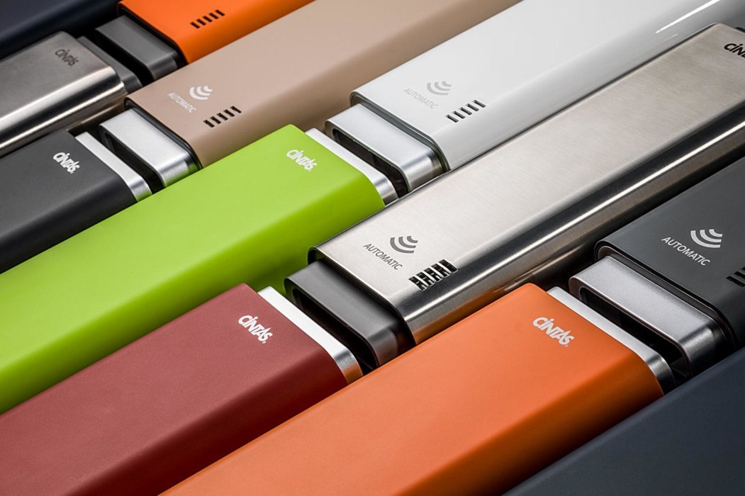 Close up of colorful USB