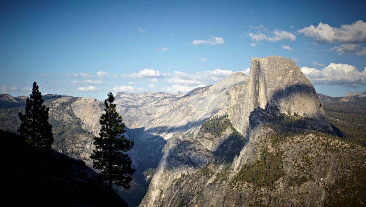 Big open mountain range high sierra