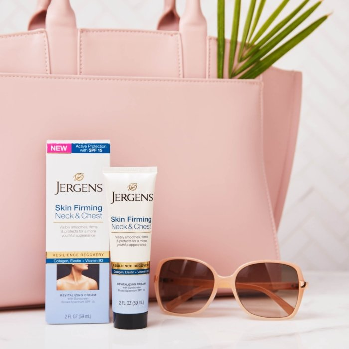 Jergens skin firming cosmetics photography - Cosmetics photography