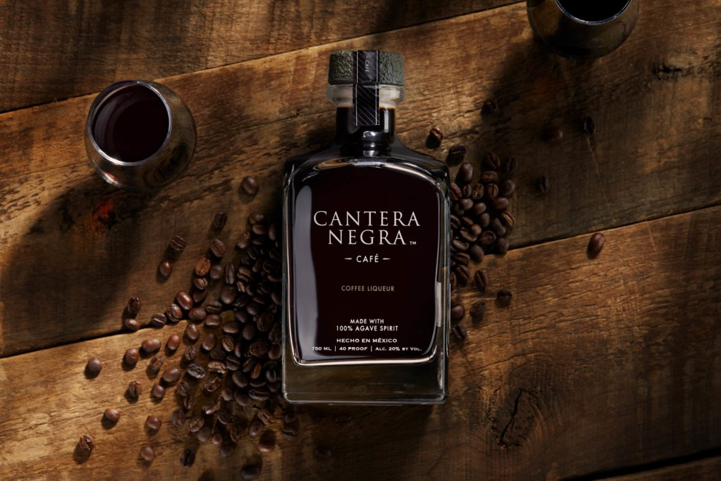 Cantera negra cafe tequila - social media photography - drink photography