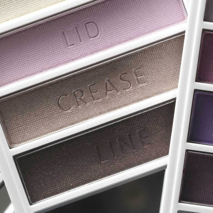 Close up of colorful make-up and cosmetics