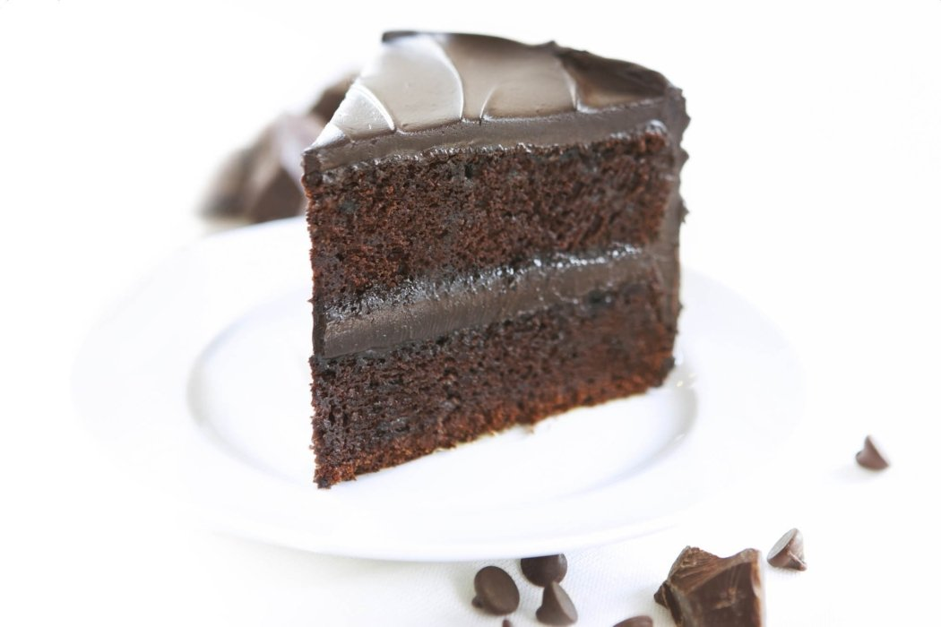 Chocolate photography - Chocolate Cake. Shot for Duncan Hines
