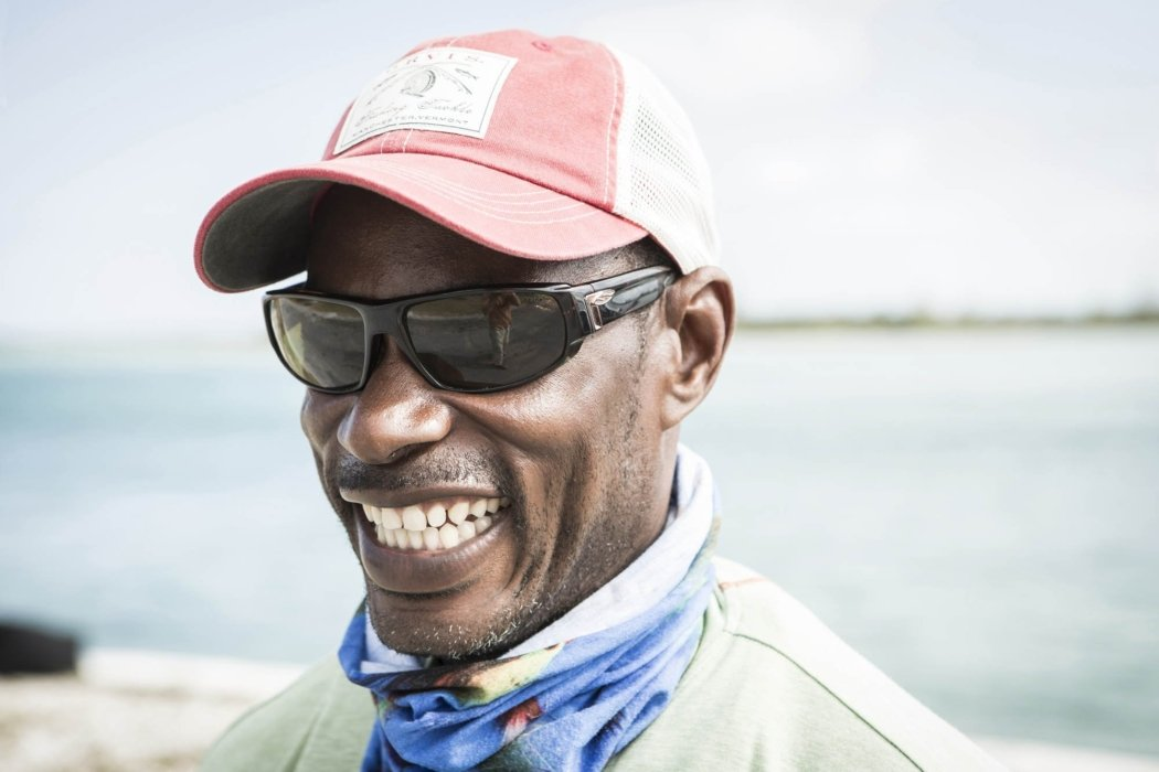 People photography - Portrait of a smiling fisherman