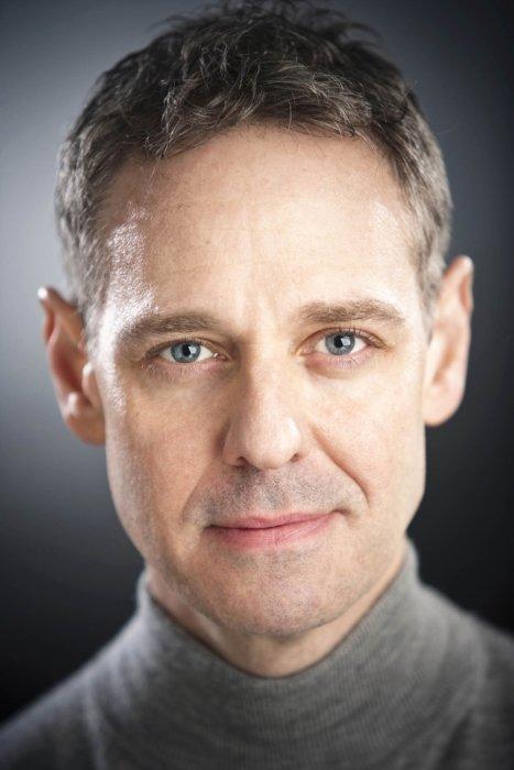 Portrait of a man close up