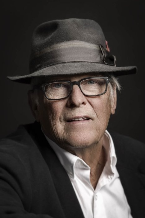 Portrait of an older man with fedora
