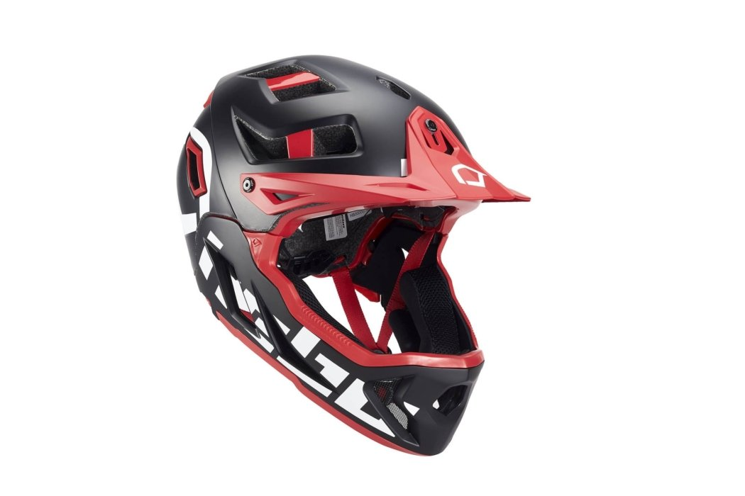 Product photography - Motocross helmet with BOA closure system
