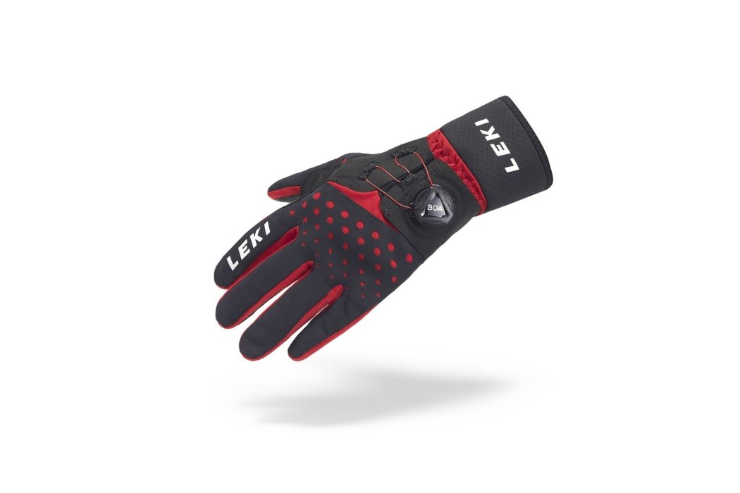 Product photography - Leki gloves with BOA fit system