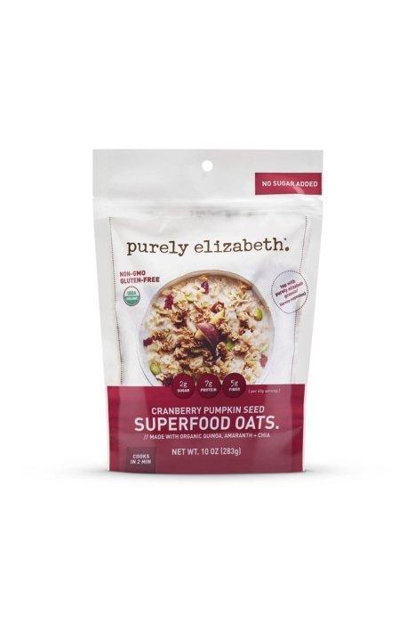 Product photo - purely elizabeth granola packaging cranberry pumpkin