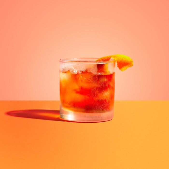 Old fashioned - Drink Photography - Modern -sunset