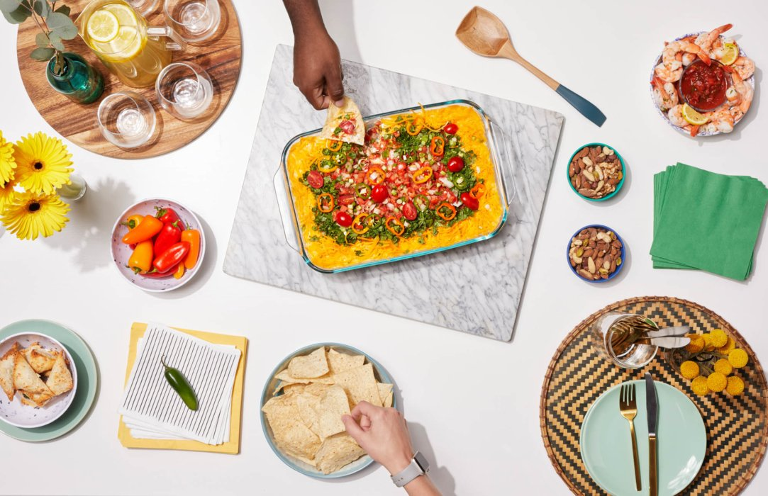 Prex Food party - food styling