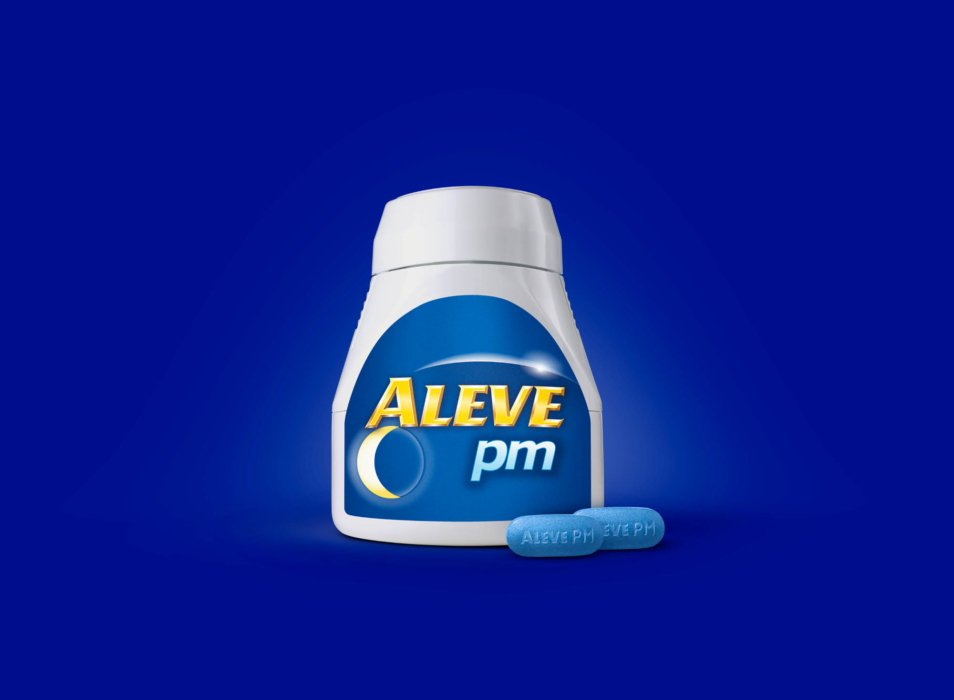 Aleve pm Product photography