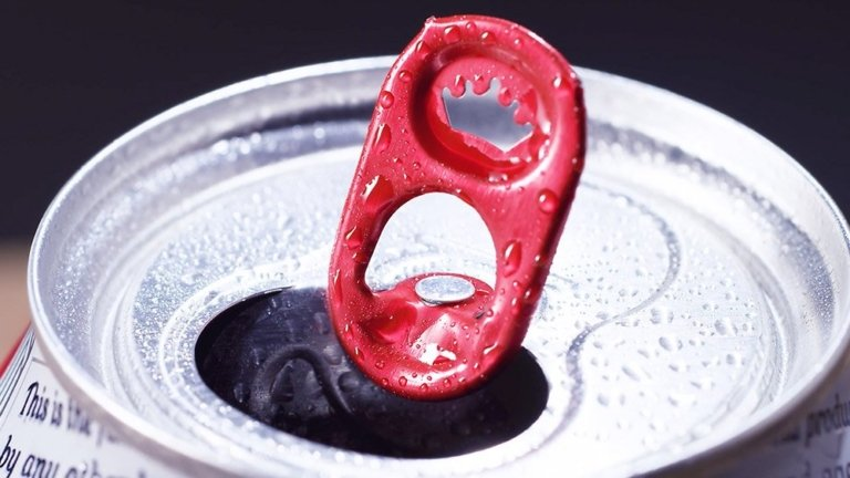 A budwiser beer can top