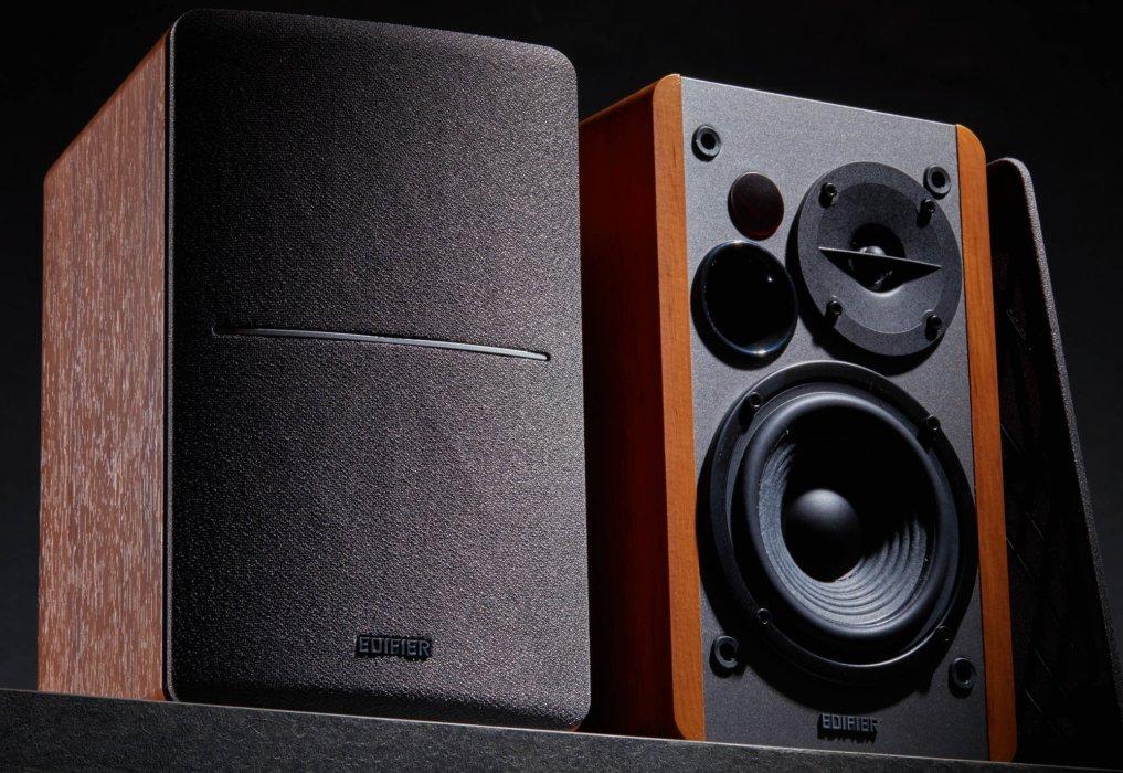 edifier soundsspeaker product wood design