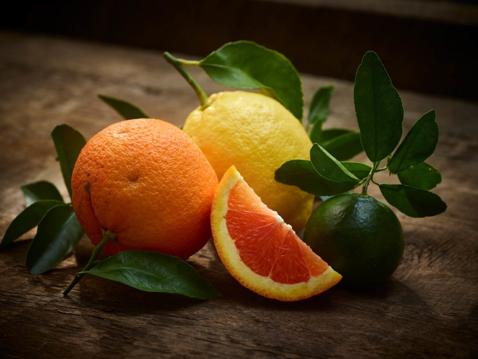 Mexico inspired editorial food photography - oranges and fruits