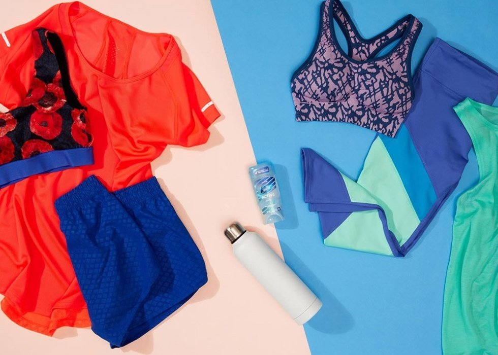 P&G product with colorful clothes