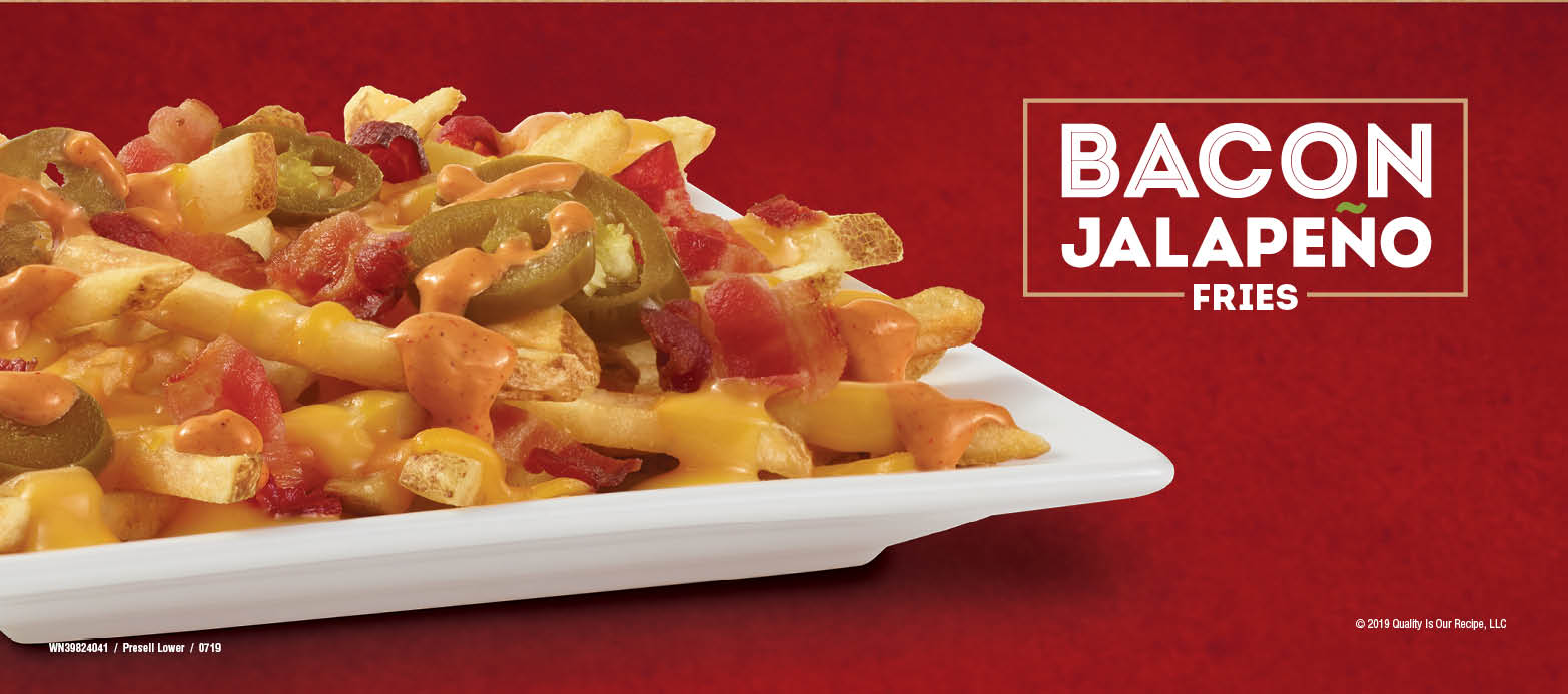 Wendy's Bacon Jalapeno Fries - Food Photography