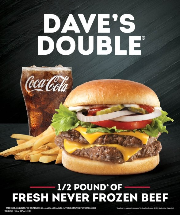 Dave's Double Cheese Burger - Food Photography