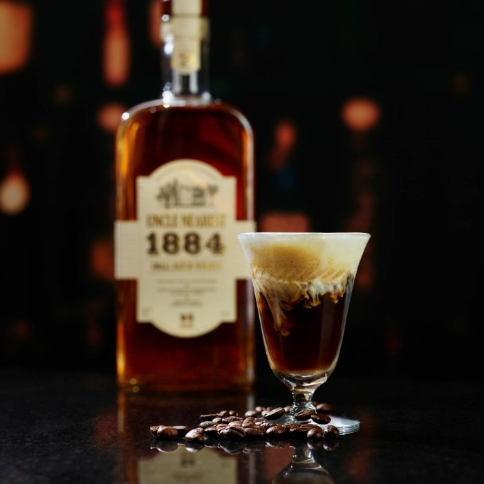 A coffee cocktail with whiskey - Uncle Nearest 1856 Whiskey - drink photography