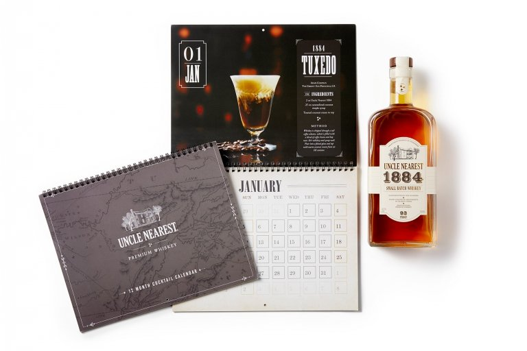 Uncle Nearest Calendar 2020 - Drink Photography
