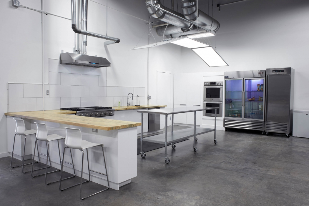 Modern kitchen of OMS Photo's Golden Colorado photo studio