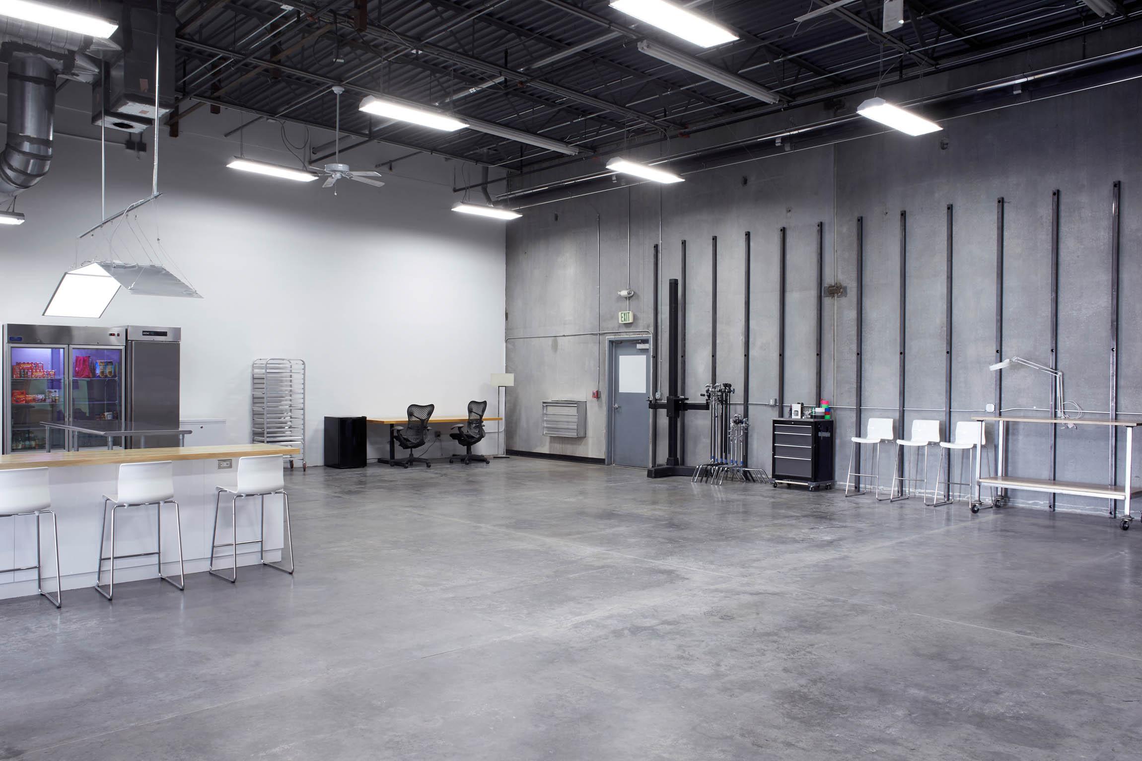 A moden photo studio. See OMS Photo's Golden Colorado photo studio
